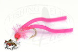 Hot Head Squirmy Worm Pink