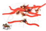 Psycho Squirmy Worm Red