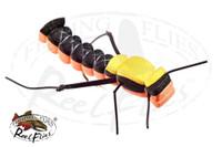 Foam Hopper Black Orange