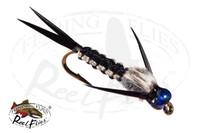 Rainbow Head Rh Black Woven Stonefly