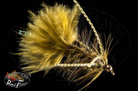 Olive Rubber Leg Bead Head Woolly Bugger