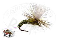 Olive Woven Emerger Parachute