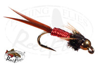 Beadhead Copper John Red