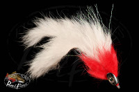 Fishmask Red Devil Split Tail Streamer