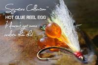 Hot Glue Reel Egg Triple in Water
