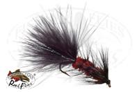 Woolly Bugger Black Brown