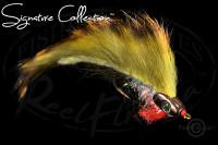 Boney Baitfish Olive Tiger Stripe
