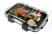 Fly Box for Larger Flies Single Sided with Waterproof Clear Top Lid - RF9500