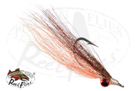 Clouser Minnow Orange-Brown