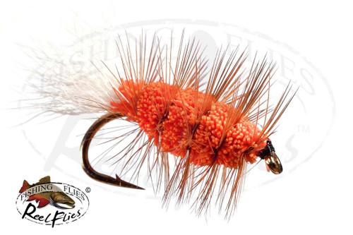 Buck Bug Orange Brown Hackle