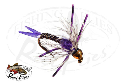 Steelhead Hunter Nymph Purple