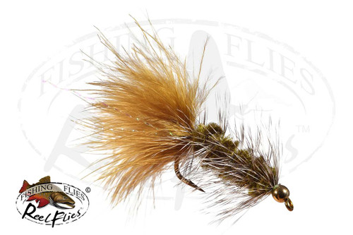Olive Grizzly Bead Head Woolly Bugger