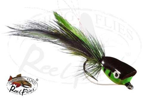 Popper Green Black
