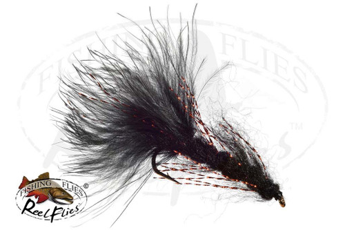 Mohair Leech Black - Copper