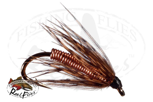 Soft Hackle Pheasant Tail Copper Wire Body