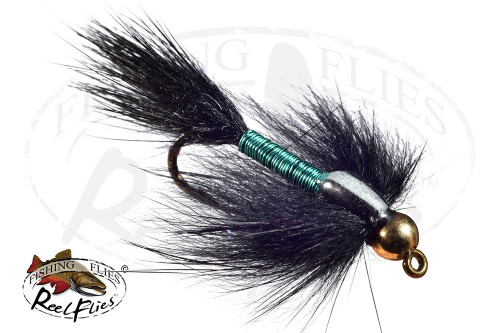 Black and Blue Copper Nymph