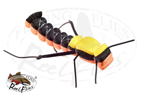 Foam Hopper Black Orange