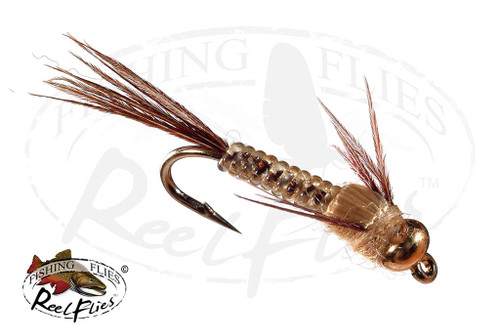 BH ReelFlies™️ Light Cahill Mayfly Nymph Fly