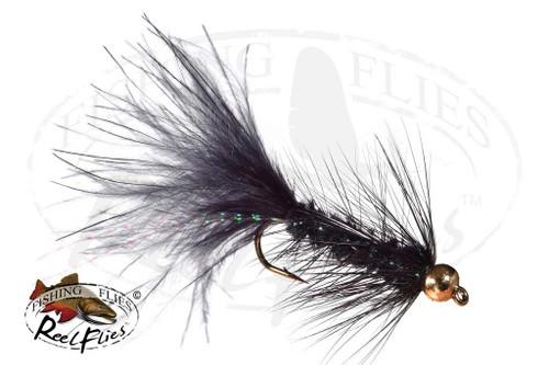 Beadhead Woolly Bugger Black