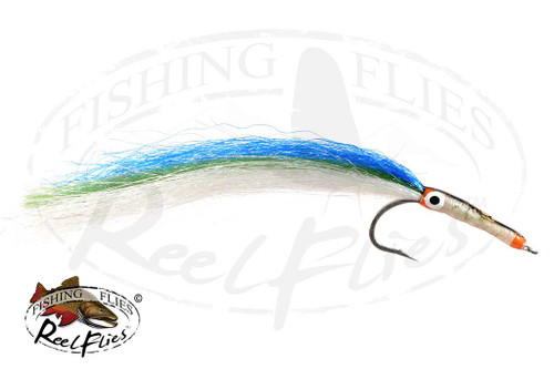 Needlefish Fly Aqua Green Saltwater Fly for Barracuda