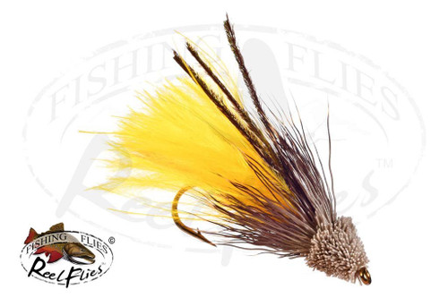 Muddler Minnow Marabou Yellow