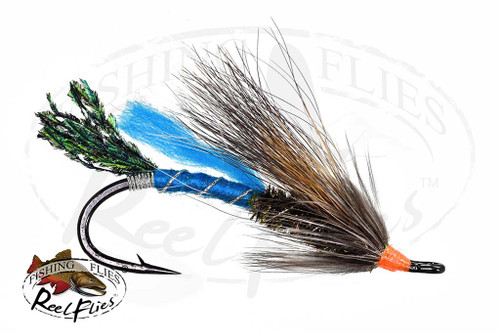 Blue Rat Salmon Fly