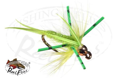 Steelhead Predator Nymph Chartreuse