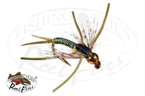 Steelhead Hunter Nymph Olive