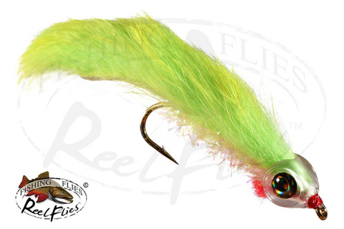 Cut Throat Minnow Chartreuse