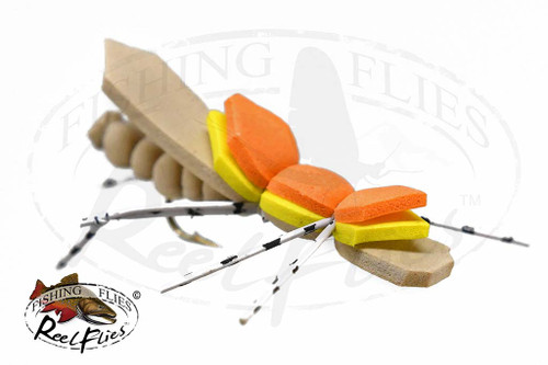 Reel Tan Foam Hopper