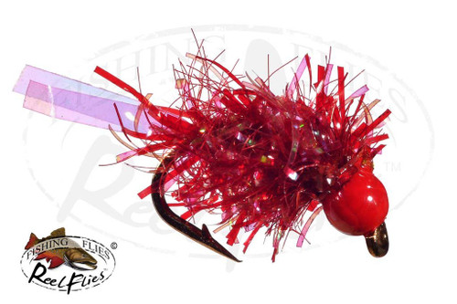 Tungsten Trout Tickler Blood Red