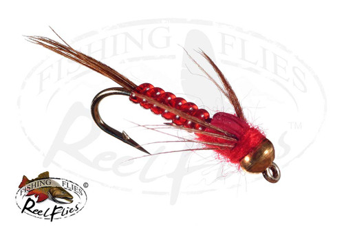 Reelflies Nymph Red