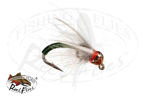 ReelFlies™ Copper Prince Nymph Chartreuse