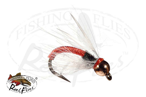 ReelFlies™️ Copper Prince Nymph Orange