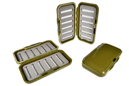 slimline-waterproof-fly-box-olive-3-pack