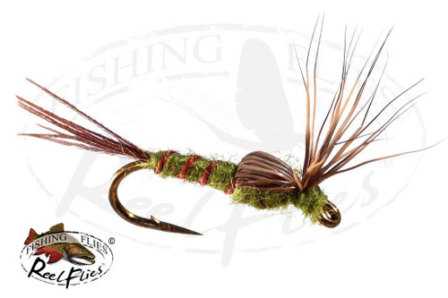 Elk Wing Emerger Olive