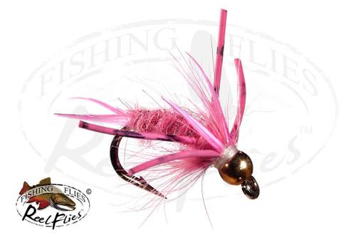 Steelhead Predator Nymph Pink