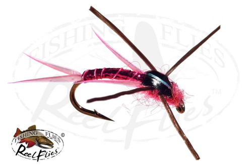 Steelhead Seducer Nymph Pink