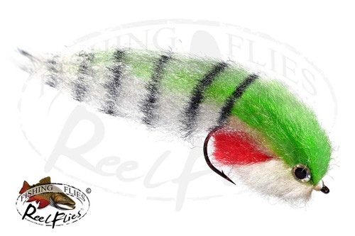 Fat Head Baitfish Chartreuse