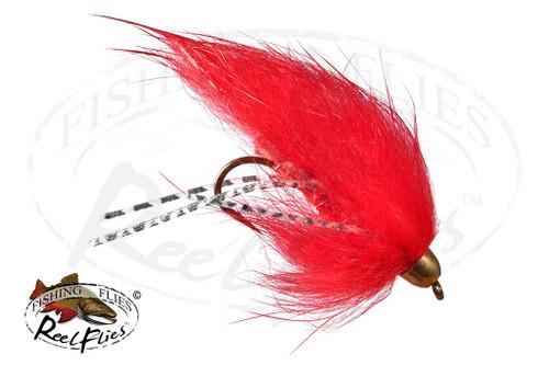 Red Rubber Leg Zonker
