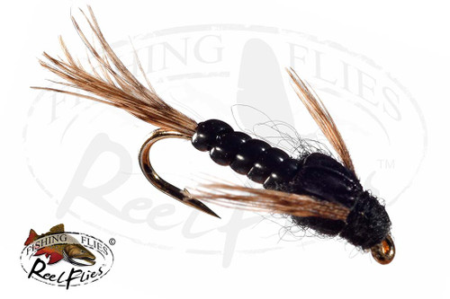 ReelFlies™ Nymph Black