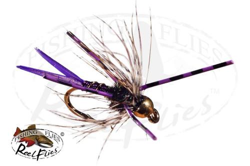 Steelhead Poacher Nymph Purple