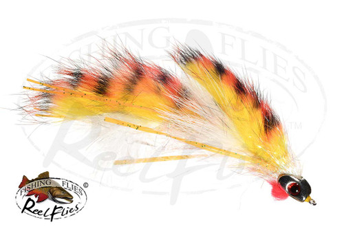 Orange Articulated Baitfish