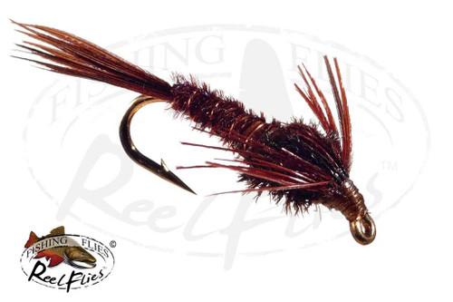 Pheasant Tail Dark Brown
