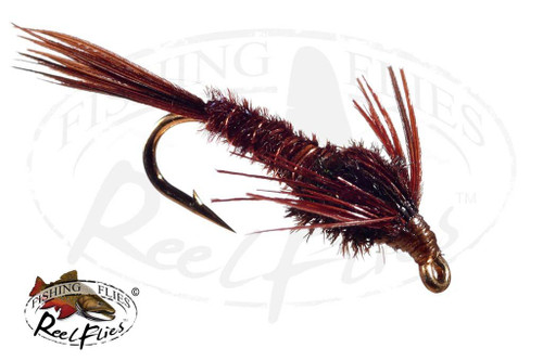 Pheasant Tail Dark Brown