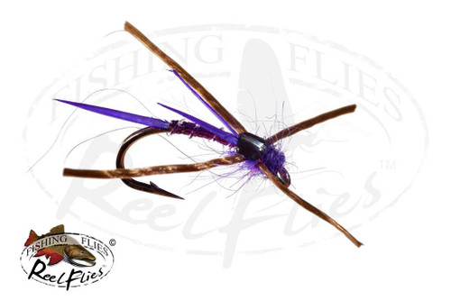 Steelhead Seducer Nymph Purple