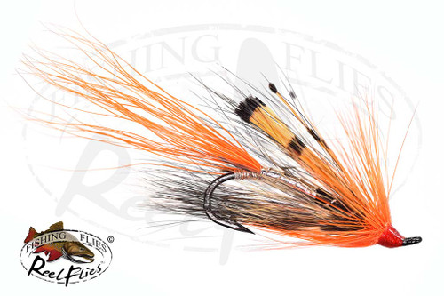 Allys Shrimp Silver Atlantic Salmon Fly