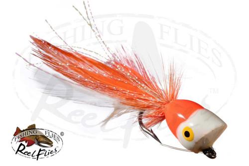Popper Orange  White