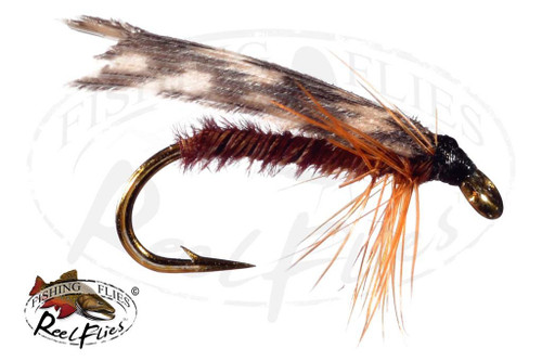 Tent Wing Caddis Brown