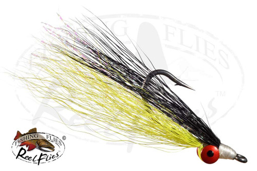 Clouser Minnow Chartreuse-Black